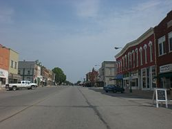 Main street in Eureka, 2012