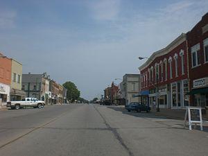 Eureka, Kansas - Main street in Eureka (2012)