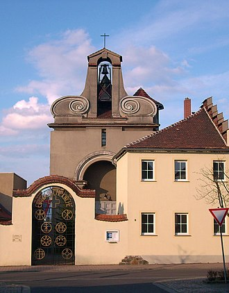 Wittichenau - Image: Ev Kirche Wittichenau 4
