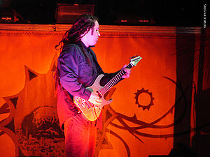 Terry Balsamo - Terry Balsamo playing guitar at an Evanescence concert, April 2007