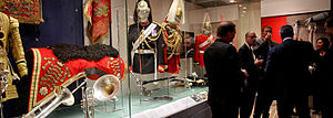 Household Cavalry Regiment - A reception at the Household Cavalry Museum, Horse Guards.