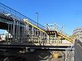 Everett Street stairs at Boston Landing station under construction, October 2016.JPG