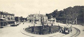 European Square (Kiev) - Image: Evropeys'ka ploscha old