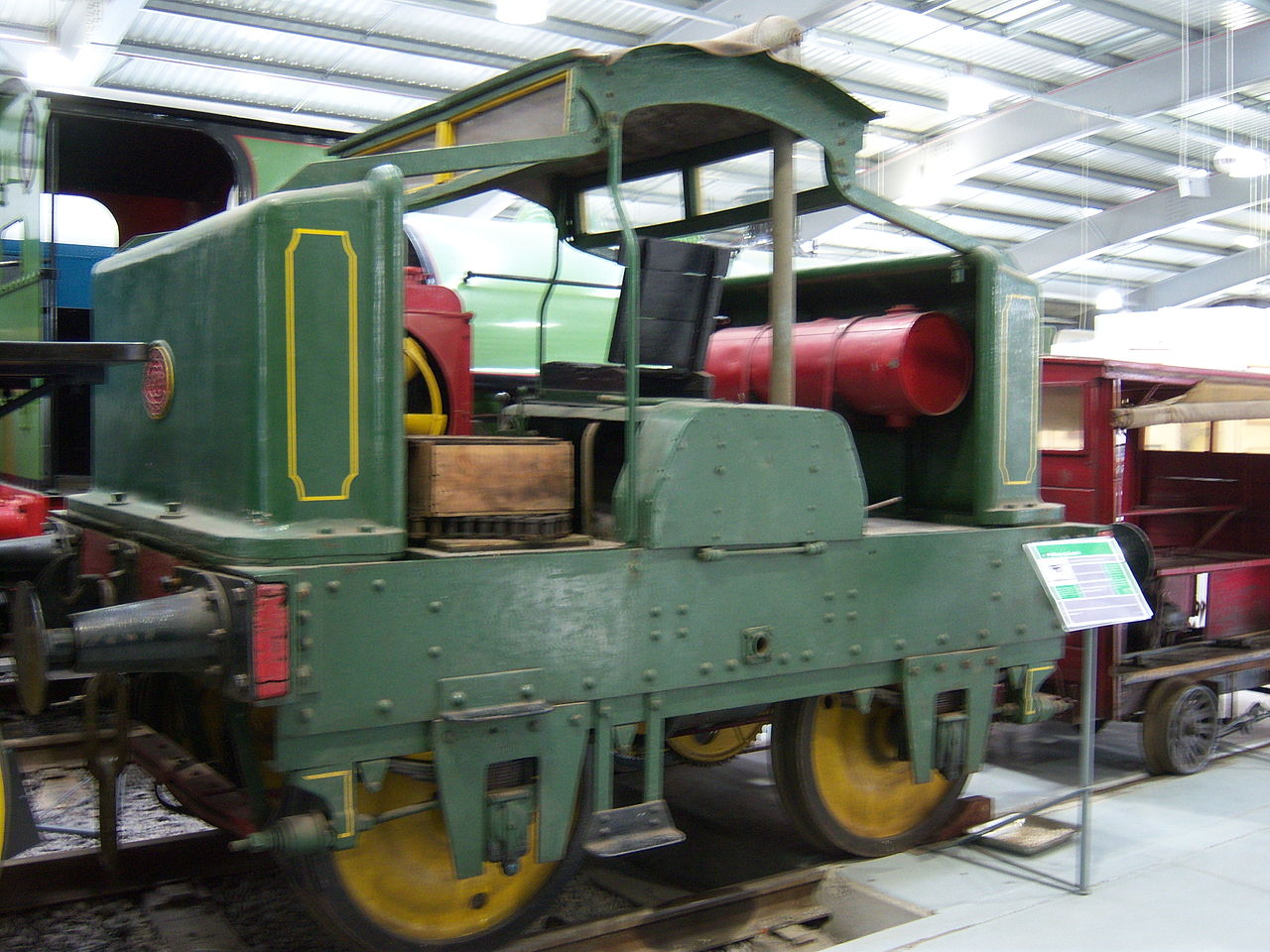 Exhibition Booth Wiki : File exhibit locomotion shildon april g