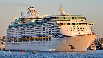Voyager-class cruise ship - Image: Explorer of the Seas, Fremantle, 2015 (01) (cropped)