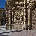 Expulsión de los mercaderes del templo. Catedral de Astorga.jpg