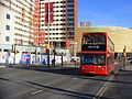 Extension of the 388 bus route to Stratford City (12032755656).jpg