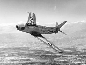 56th Fighter Wing - North American F-86F Sabre jet