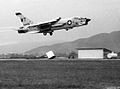 F-8E Crusader of VMF(AW)-232 taking off from Da Nang c1967.jpg