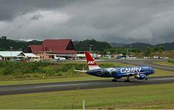 FAT Boeing 757 Palau Airport Spijkers.jpg