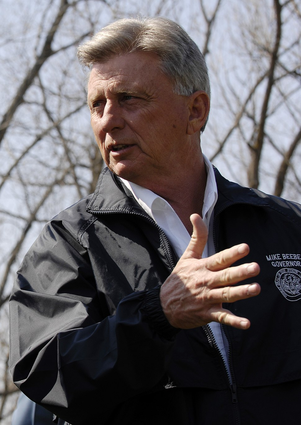 FEMA - 34604 - Arkansas Governor Mike Beebe in the field (cropped)