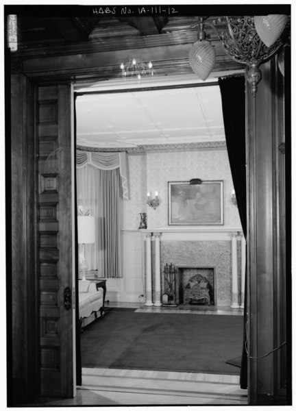 File First Floor Looking From Stair Hall To Southeast