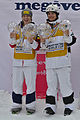 FIS Moguls World Cup 2015 Finals - Megève - 20150315 - Hannah Kearney et Mikael Kingsbury.jpg
