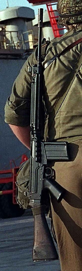 Repeating rifle - FN FAL battle rifle