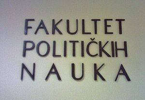 University of Montenegro Faculty of Political Sciences