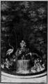 Fable 13 - Le Renard & la Gruë - Perrault, Benserade - Le Labyrinthe de Versailles - page 73.png