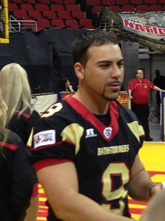 Fabrizio Scaccia American football placekicker (born 1984)