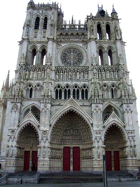 File facade de la cathedrale d 39 wikimedia commons for Arquitectura lyon