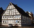 Fachwerkfassade Marsberg Denkmalnr A17.jpg