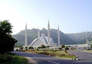 Foreign relations of Saudi Arabia - Faisal Mosque, Islamabad, Pakistan.