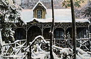 Falls Hut, Tasmania, 1910