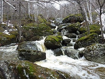 Falls on the river Mogak (Abzelilovsky District)4.jpg
