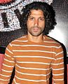 Farhan Akhtar at the Premiere of Ash Chandler's play at The Comedy Store 03.jpg