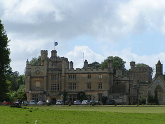 Ravenscroft School, Somerset - The school's last home, Farleigh House