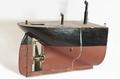 Fartygsmodell-Akterskepp av ångfartyg. Ca 1850 - Sjöhistoriska museet - O 00098.tif