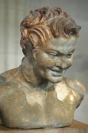 Inuus - A Roman imperial bust of Faunus