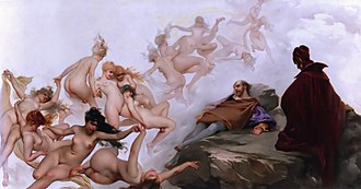 Witches' Sabbath - Faust's Vision by Luis Ricardo Falero