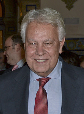 Prime Minister of Spain - Image: Felipe González 2015 (cropped)