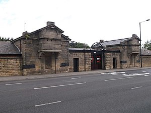Fenham Barracks - Former entrance to Fenham Barracks