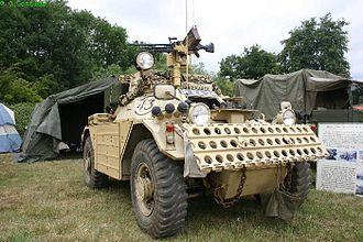 Ferret armoured car - Ferret Mk.1/2 in desert finish