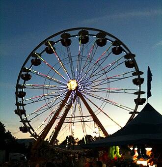 North Carolina State Fair - A Ferris wheel at the 2009 fair