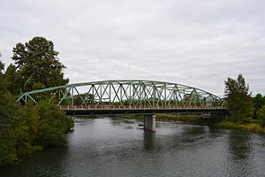 Ferry Street Bridge (Eugene, Oregon) - Image: Ferry Street Bridge (Eugene, Oregon)