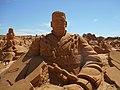 Festival Internacional de esculture em Areia, Frankenstein, 23 September 2015.JPG