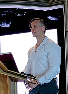 Fiann Paul public speaking, September 2018.jpg