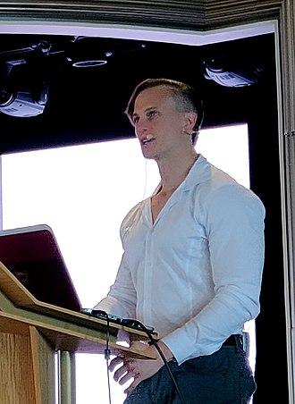 Fiann Paul - Fiann Paul public speaking in 2018