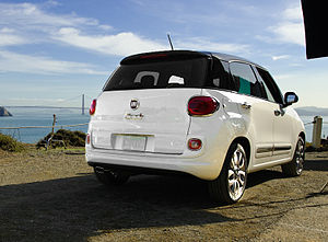 Fiat 500L - The 500L North American model