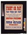 Fight or pay that others may fight. ... British freedom or Prussian militarism. Which? Subscribe now to the Canadian Patriotic Fund LCCN2005691283.jpg