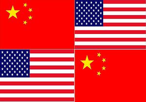 This flag is for the Chinese community in the ...