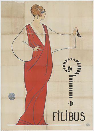 Filibus - Filibus on a contemporary poster