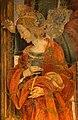 Filippino lippi, tabernacolo del mercatale, 1498, da piazza mercatale a prato 12 caterina d'a.jpg