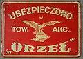 Fire mark for Orzel in Warsaw, Poland.jpg