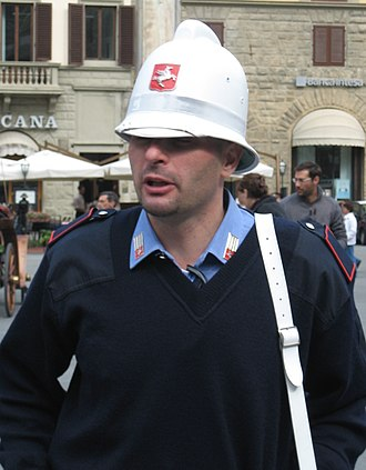 Municipal police (Italy) - Vigile urbano in Florence