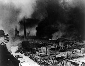 Bombing of Kassel in World War II - Fires in the Bettenhausen district