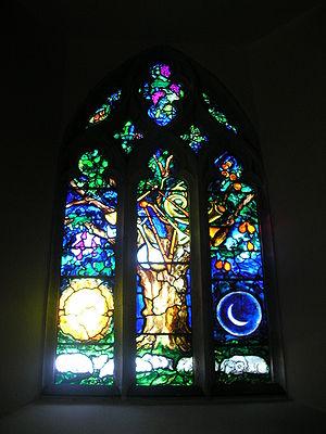 Firle - John Piper window