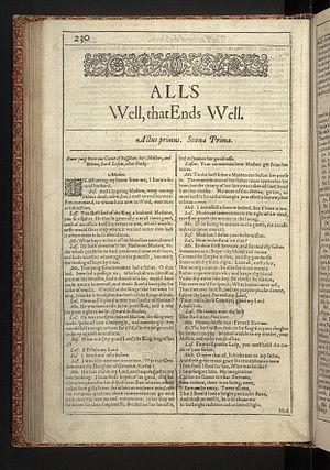 All's well that ends well essays shakespeare online