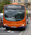 First Somerset and Avon bus 10179 (WX55 HWE), 2005 Volvo B7LA Wright Eclipse Fusion, Bath, October 2010.jpg